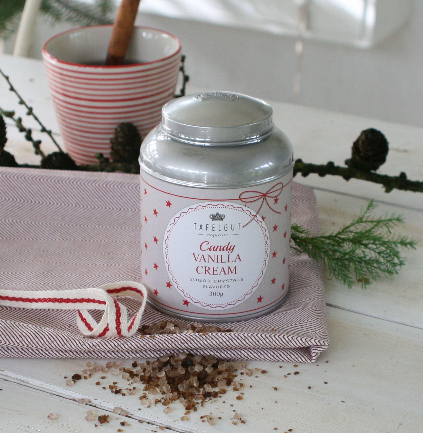Sukker krystal - vanilla cream