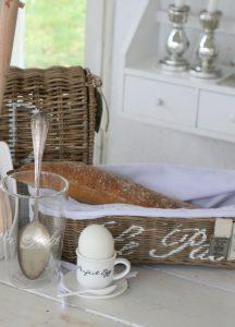 brødkurv til nybagt brød