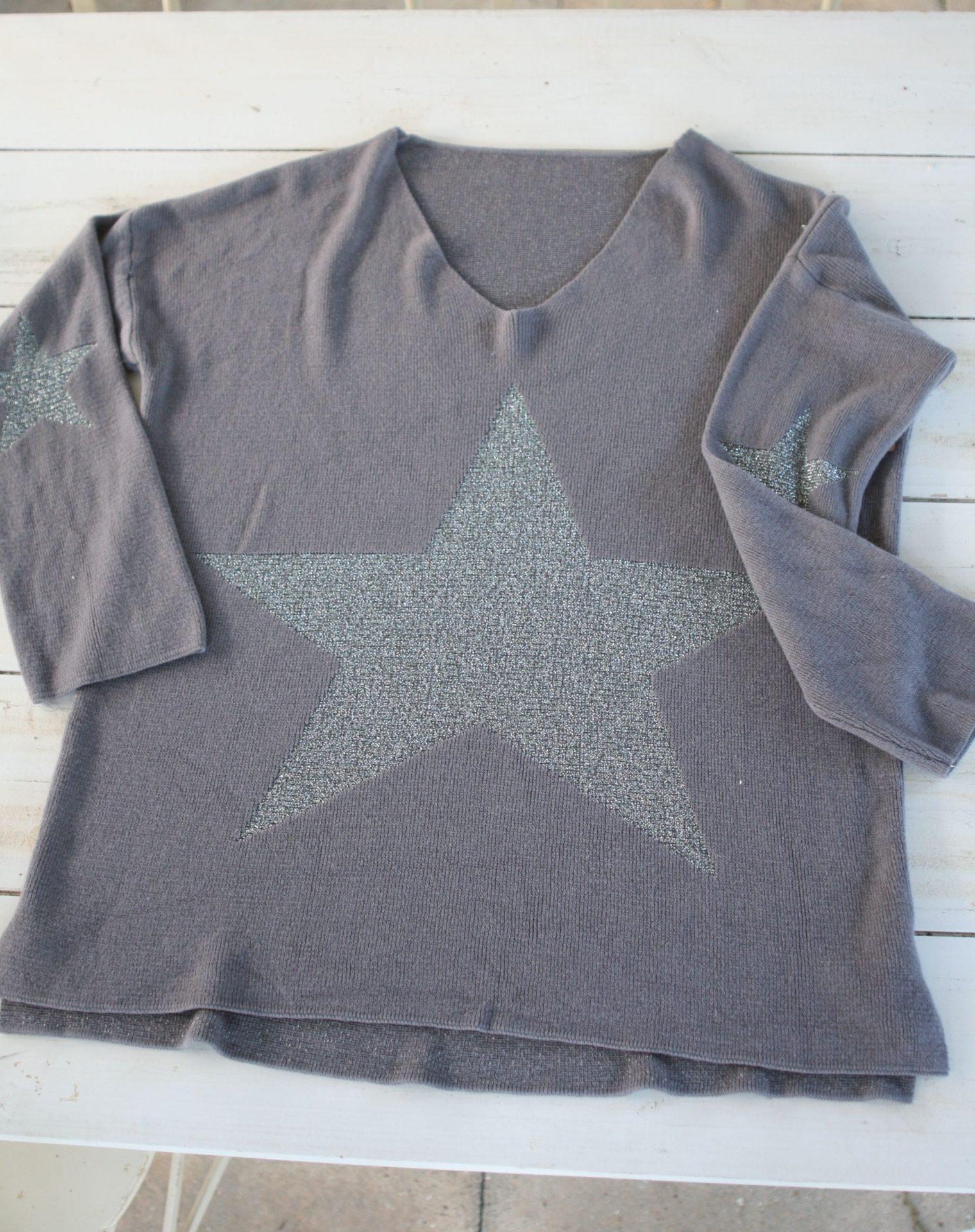 Bluse med stjerne