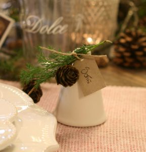 DIY Søde bordkort til julebordet