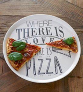 pizza tallerken