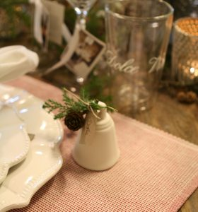 bordkortholder til julebordet