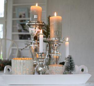 julefad med lys