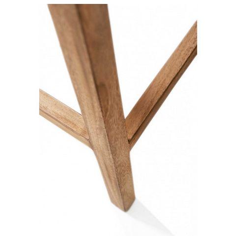 Barstol - Rustic Rattan bar stool INKL. Hynde