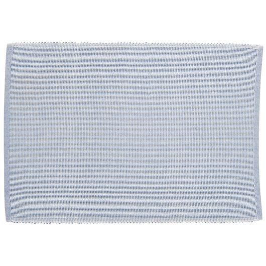 Dækkeserviet blå/hvid