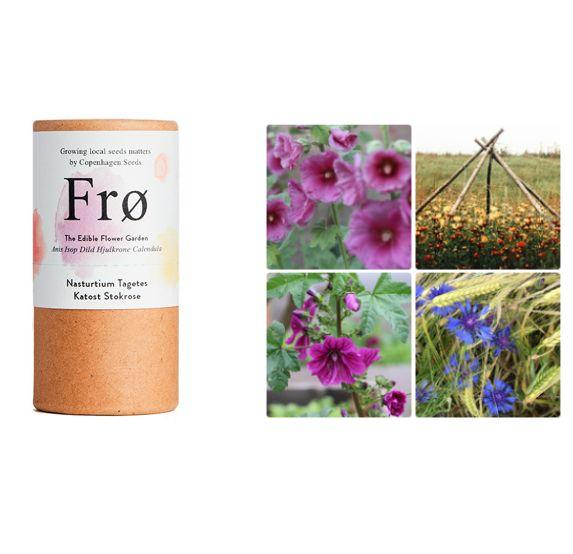 Den spiselige blomsterhave - Mix