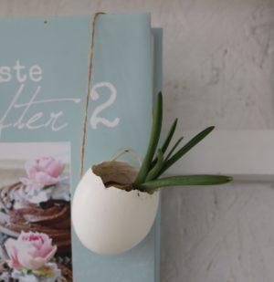 Æggeskal til ophæng - 6 stk.