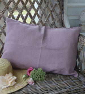 Pudebetræk rosa, 40x60 cm
