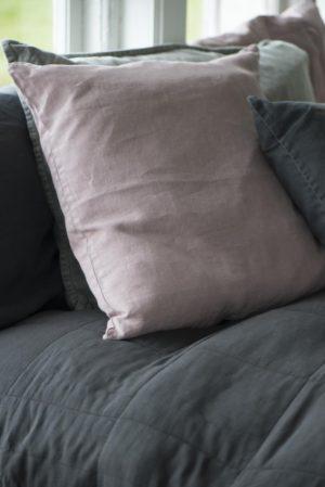 Quilt sengetæppe, mørkegrå 1 STK. TILBAGE