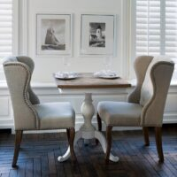 Cafebord - Chateau Belvedère Dining Table, 70x70 cm