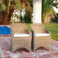 Havestol - Rustic Outdoor RattanClub Chair