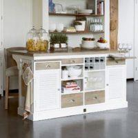 Køkken bord - Long Key Kitchen Island Cabinet BESTILLINGSVARER