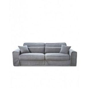 Sofa – Metropolis Sofa 3,5 eller 2,5 seater, washed cotton, grey BESTILLINGSVARER