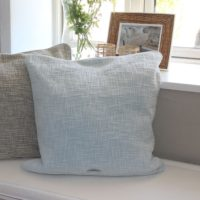 Pudebetræk - Basic Bliss Pillow Cover mint 50x50
