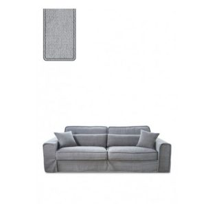 Sofa – Metropolis Sofa 3,5 eller 2,5 seater, washed cotton, platinum BESTILLINGSVARER