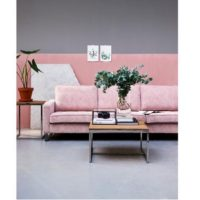 Sofa - West Houston Sofa 3,5 eller 2,5 pers, velvet, blossom BESTILLINGSVARER