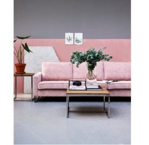 Sofa - West Houston Sofa 3,5 eller 2,5 pers, velvet, blossom BESTILLINGSVARER