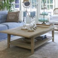 Sofabord - Beacon Hill Coffee Table extendable 140/180x80cm egetræ BESTILLINGSVARER