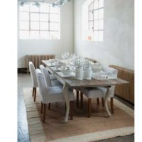 Spisebord - Driftwood Dining Table extendable, 180280x90 cm