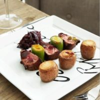 Tallerken - Buon Appetito Square Plate 26 x 26