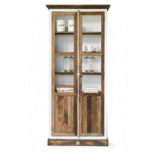 Vitrineskab - Driftwood Glass Cabinet BESTILLINGSVARER