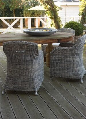 Havestol - Rustic Outdoor RattanClub Chair 1 STK PÅ LAGER udstillingsmodel STOLEN UDGÅR