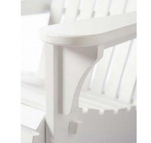 Havestol - Classic Adiron Deck chair Outdoor, white BESTILLINGSVARER