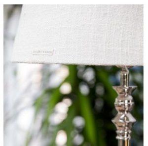 Lampeskærm - Brianna Stone Washed Lampshade beige, stor