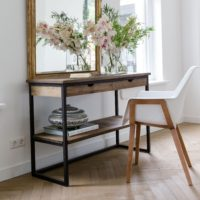 Bord - Shelter Island Side Table with drawers PÅ LAGER