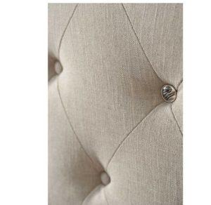 Sengegavl - Union Square Headboard Double, linen, flax BESTILLINGSVARER