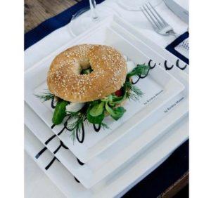 Tallerken - Buon Appetito Square Plate 22 x 22 cm