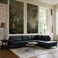 Sofa – West Houston Corner Sofa Chaise Longue Right, velvet BESTILLINGSVARER