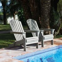 Havestol - Classic Adiron Deck Chair outdoor grey BESTILLINGSVARER