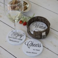 Glasbrikker - Enjoy Cheers Coasters