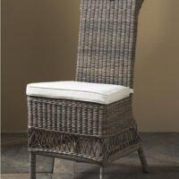 Havestol - Outdoor Rustic Rattan Saint Malo Chair 1 STK. TILBAGE udstillingsstol