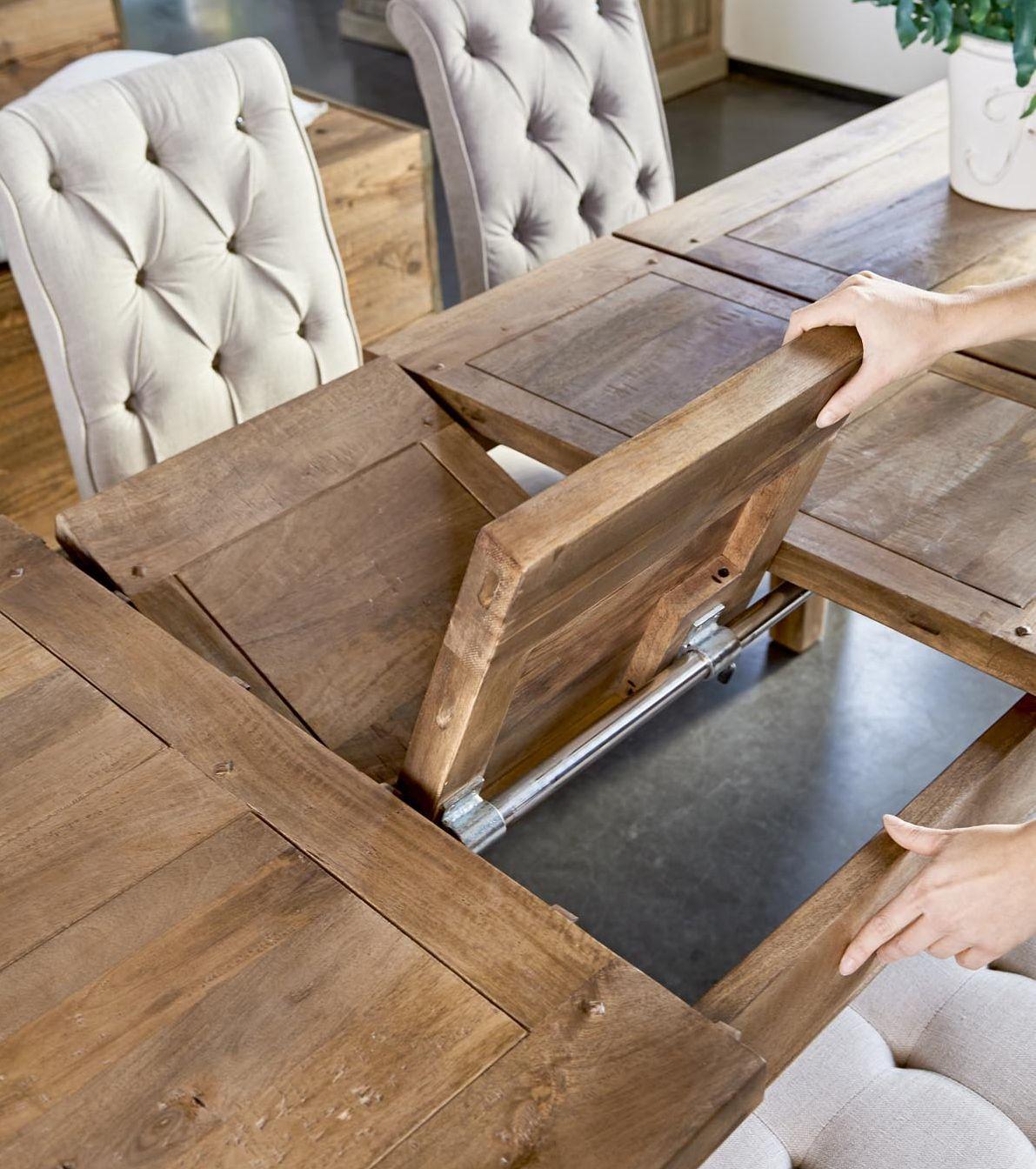 33db0790bd08 Spisebord - Beacon Hill Dining Table extendable 310x100 cm, french grey  BESTILLINGSVARER