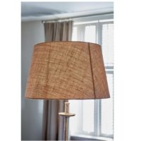 Stor lampeskærm - Fabulous Lampshade Round flax 40x50