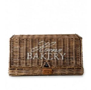 Brødbox - Rustic Rattan Home Bakery Bread Box UDSOLGT