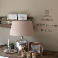 Wallstickers RM logo, Home is where you can be you