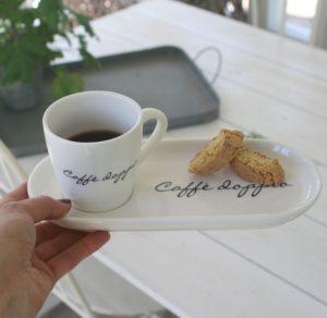 Kop m. tallerken - Caffè Doppio