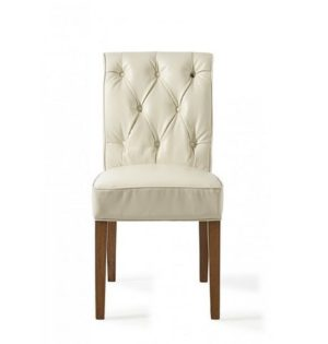 Spisebordsstol - Hampton Classic Dining Chair, pellini, white BESTILLINGSVARER