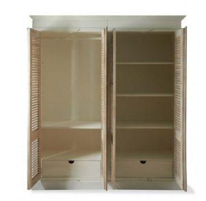 Skab - Pinellas Park Wardrobe Cabinet Double BESTILLINGSVARER