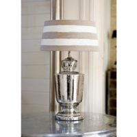 Sølv lampefod - Chatsworth Table Lamp M