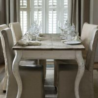 Spisebord - Driftwood Dining Table 180x90 - BESTILLINGSVARER