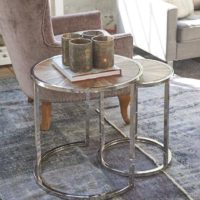 Sidebord - Greenwich End Table Set/2 BESTILLINGSVARER