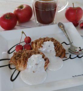 Hasselback æbler - Opskrift
