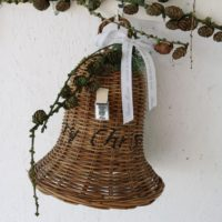 Stor flet klokke - RR Have A Merry Christmas Bell