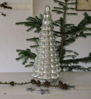 Sølv juletræ - Rockefeller Plaza Christmas Tree