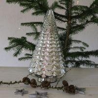 Sølv juletræ - Fifth Avenue Christmas Tree 1 STK. TILBAGE