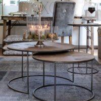 Sofabord - The Market Coffee Table 70dia S/2 BESTILLINGSVARER